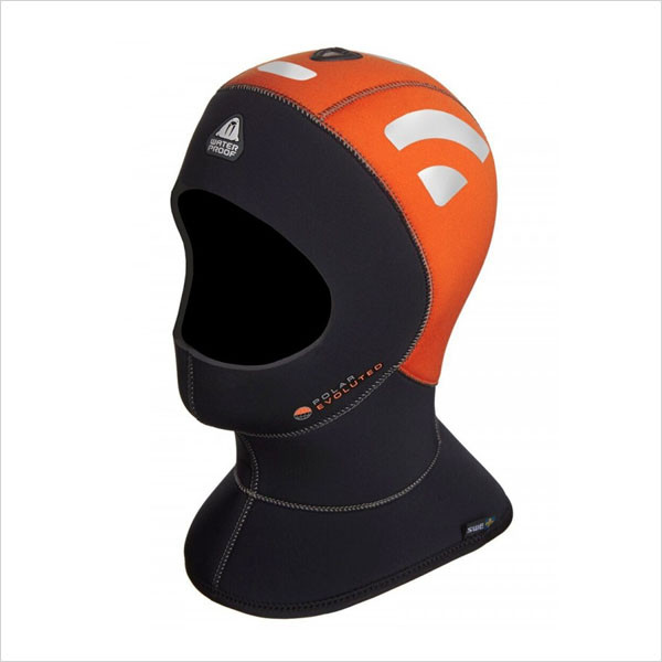 스쿠버장비몰 - Waterproof H1 HIGH VISIBILITY 5/7mm POLAR EVO HOOD / 스킨 스쿠버 장비